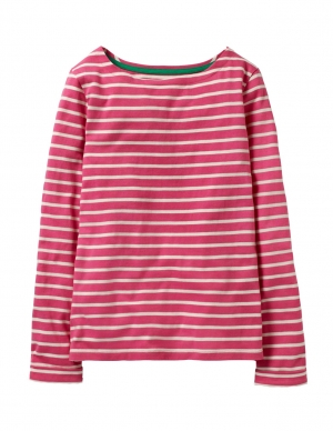 Ex Chainstore Pink and White Stripe Top 4.00pp